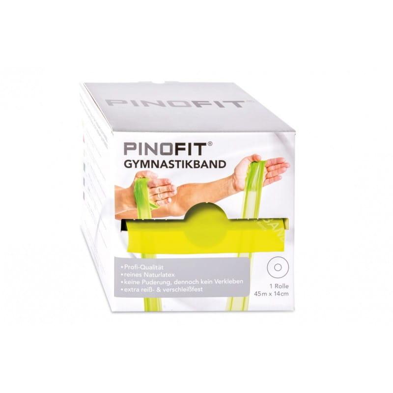 PINOFIT guma do ćwiczeń 14cm x 45m żółta