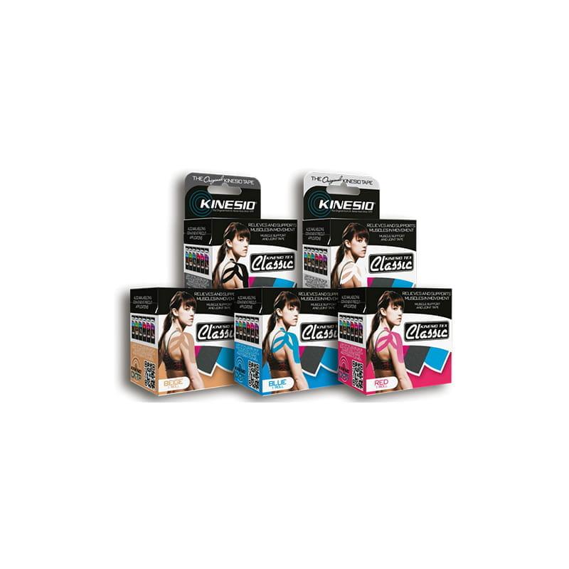 Kinesio Tape classic 5cmx4m - różne kolory