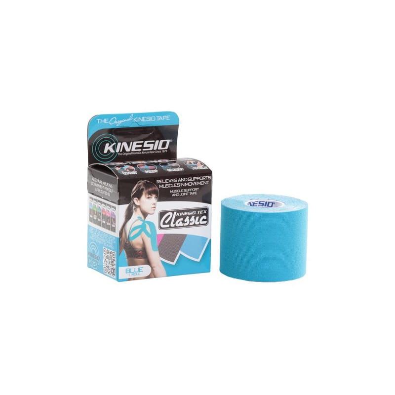 Kinesio Tape classic 5 cm x 4 m - niebieski