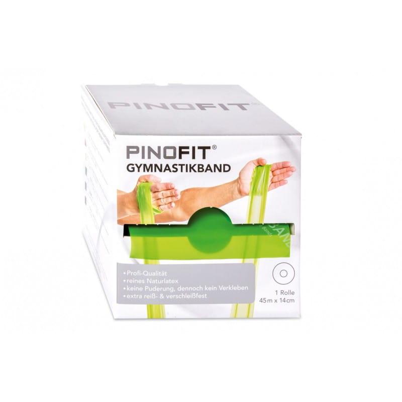 PINOFIT guma do ćwiczeń 14cm x 45m limonkowa