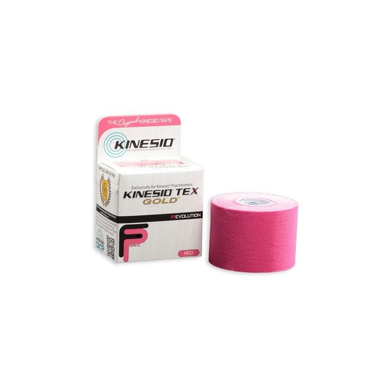Kinesio Tape gold 5 cm x 5 m - różowy