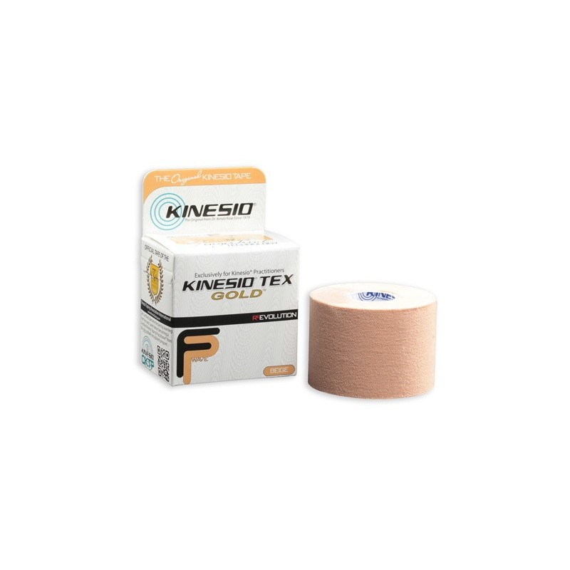 Kinesio Tape gold 5cm x 5m - beżowy