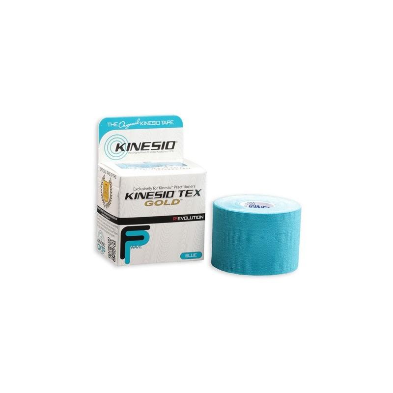 Kinesio Tape gold 5cm x 5m - niebieski