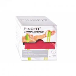 PINOFIT guma do ćwiczeń 14cm x 45m czerwona