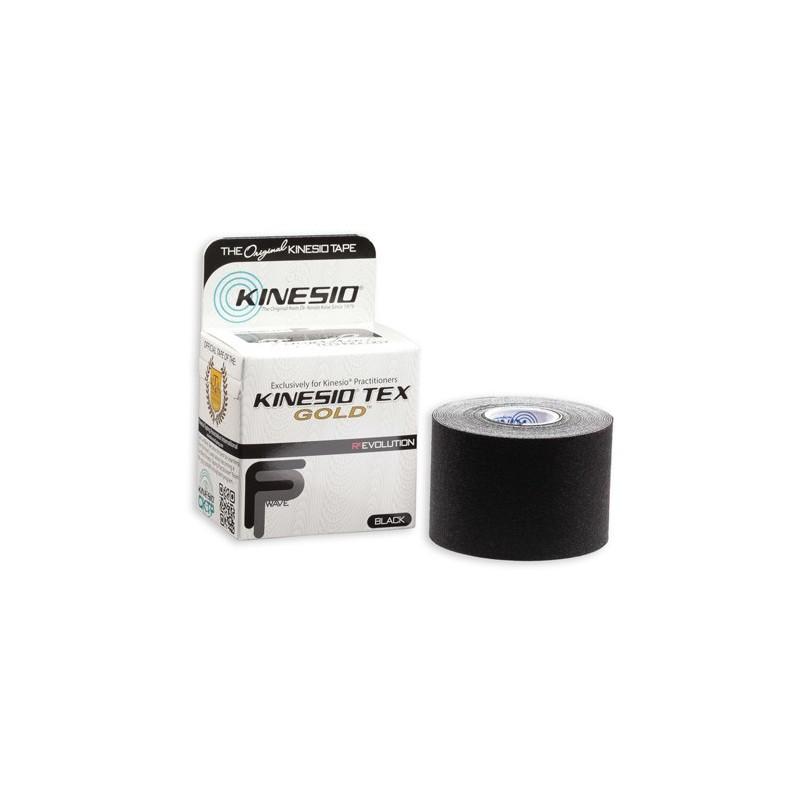 Kinesio Tape gold 5cm x 5m - czarny