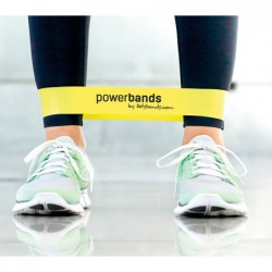 Powerbands Mini Loop Guma do ćwiczeń - czarna