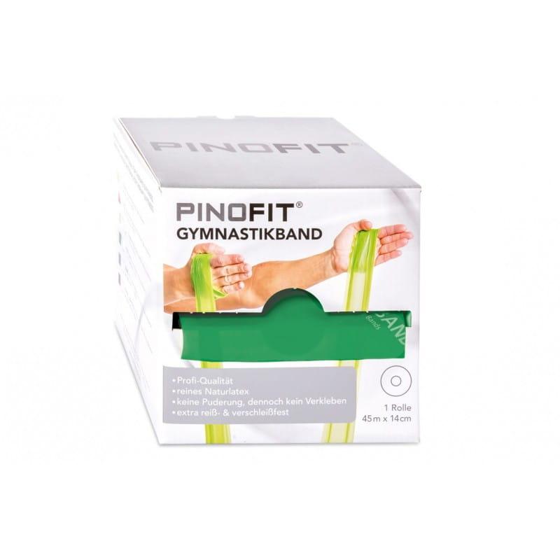 PINOFIT guma do ćwiczeń 14cm x 45m zielona