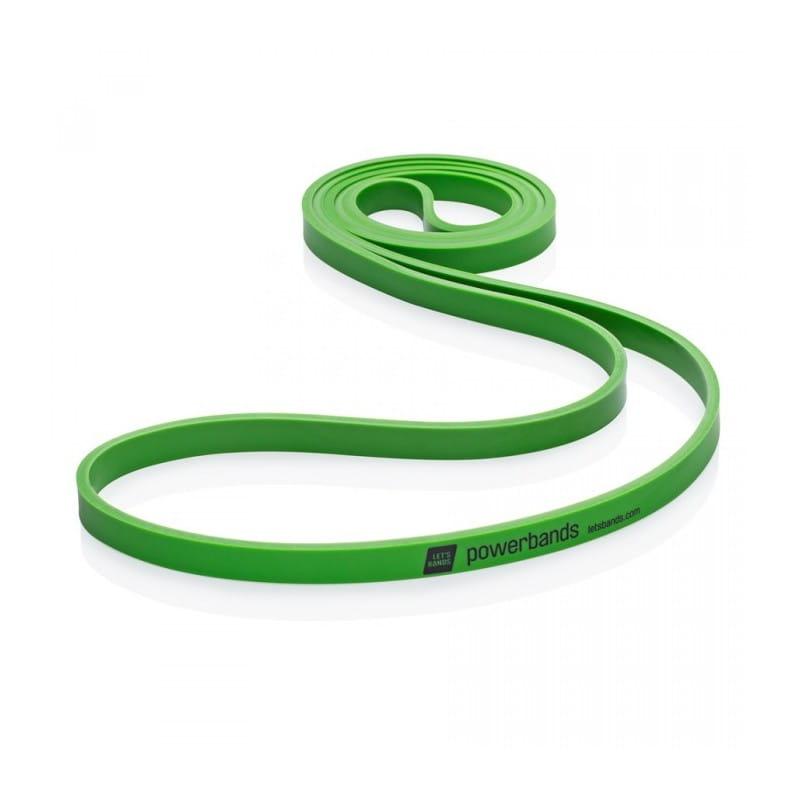 Powerband Guma do ćwiczeń - zielona - średnia