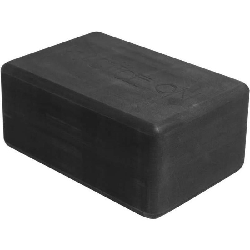 Kostka do jogi Manduka yoga block pianka grafit