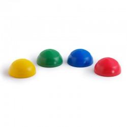 Pezzi Half Ball - 2szt. - kolor czerwony