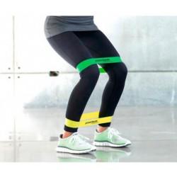Powerbands Mini Loop Guma do ćwiczeń - żółta