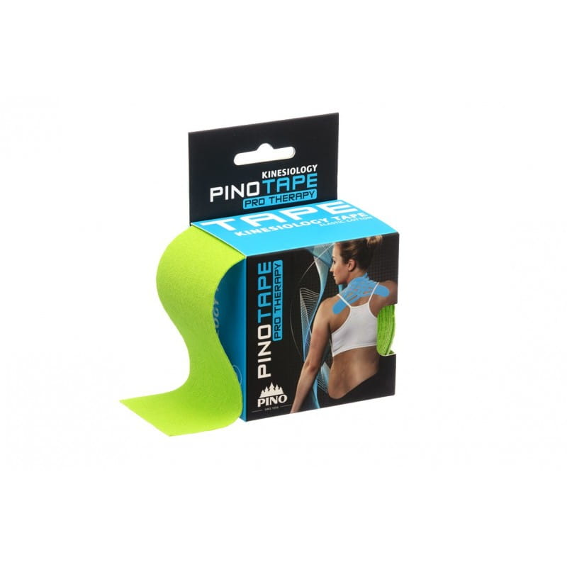 PINO Kinesiology Tape 5cm x 5m therapy- limonka