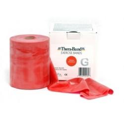 Guma do ćwiczeń Thera-Band czerwona 45,7m (cała rolka)