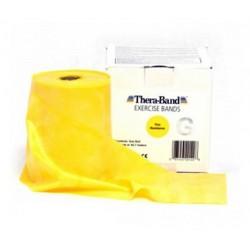 Guma do ćwiczeń Thera-Band żółta 45,7m (cała rolka)