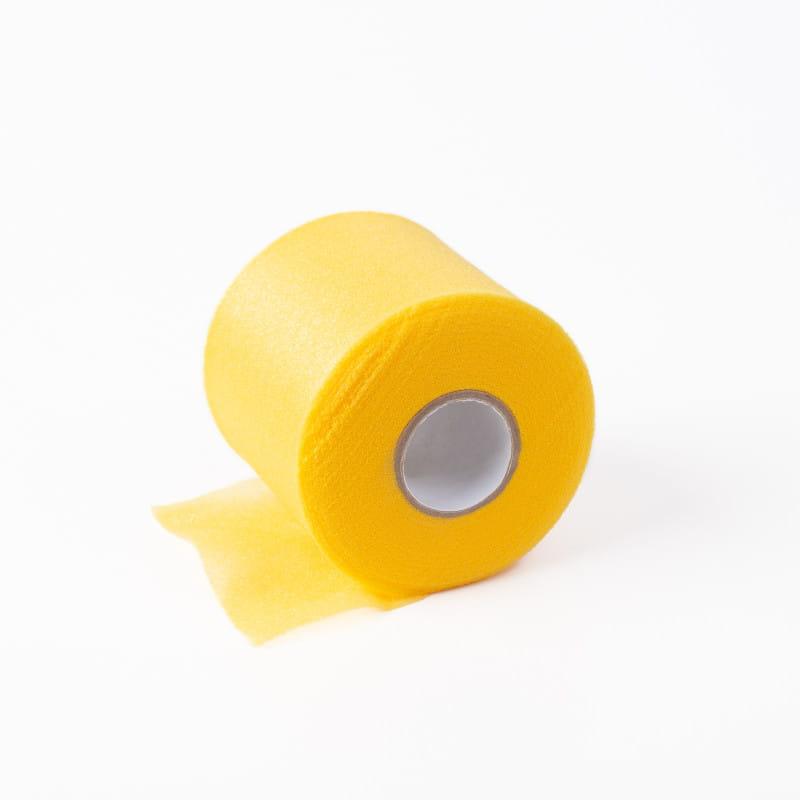 Jaybird gąbka pod plaster – 6,8cm x 27m żółty