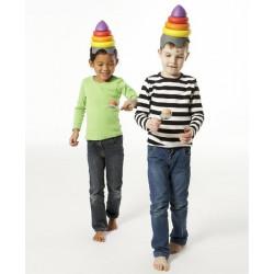 Kapelusz równoważny  czapka clowna Gonge