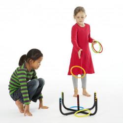 Gra Activity Rings - pierścienie ze stojakiem Gonge