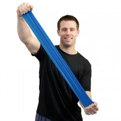 Guma do ćwiczeń Sup-R-Band bezlateksowa niebieska 1m
