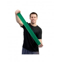 Guma do ćwiczeń Sup-R-Band bezlateksowa zielona 1m