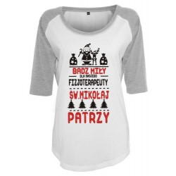 Koszulka damska 3/4 dla...