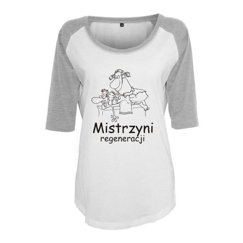 Koszulka damska 3/4 mistrzyni regeneracji