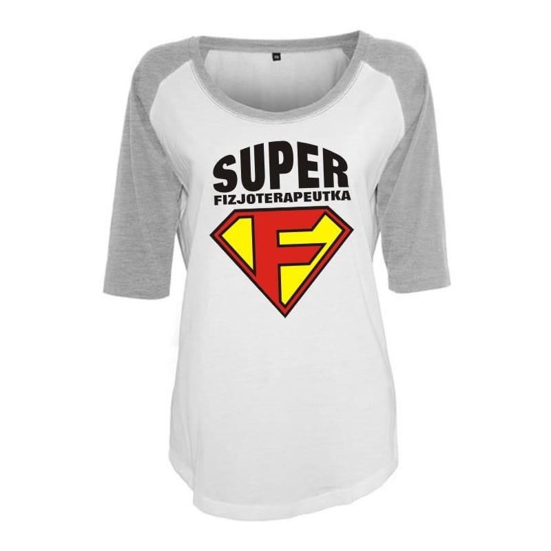 Koszulka damska 3/4 super fizjoterapeutka