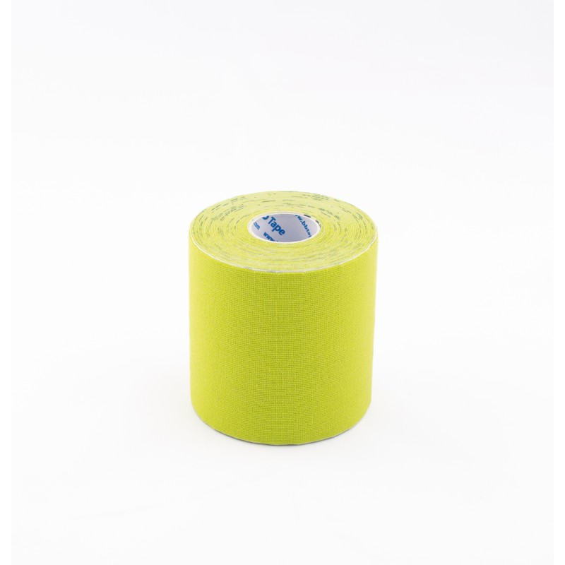 BB Kinesiology Tape 7,5cm x 5m - jasnozielony