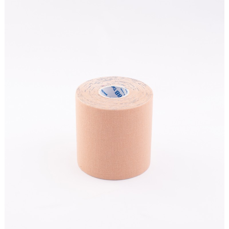 BB Kinesiology Tape 7,5cm x 5m - beżowy