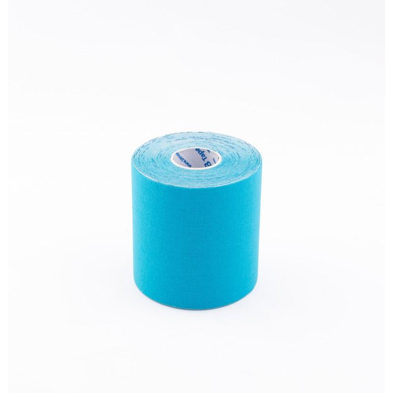 BB Kinesiology Tape 7,5cm x 5m - niebieski