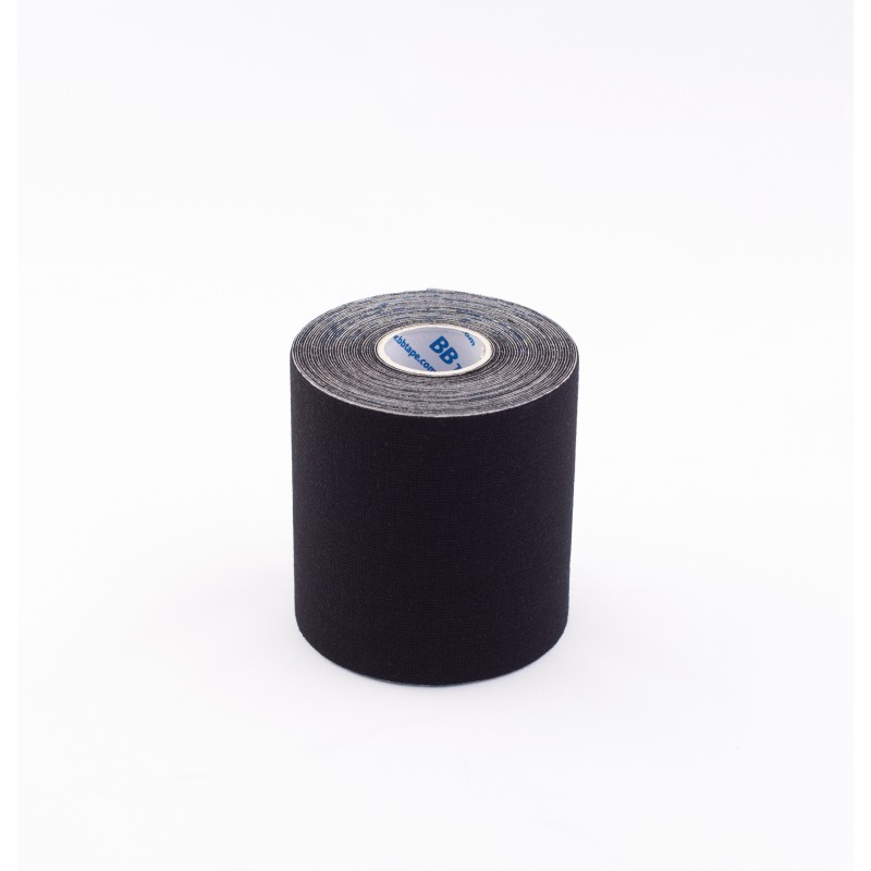 BB Kinesiology Tape 7,5cm x 5m - czarny