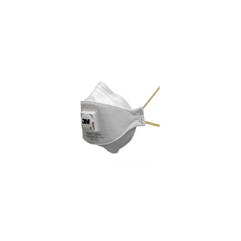 Maska przeciwpyłowa klasy P1 z zaworem wydechowym 3M 9312+
