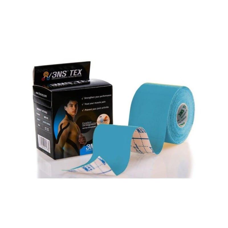 3NS TEX kinesiotaping 5cmx5m niebieski