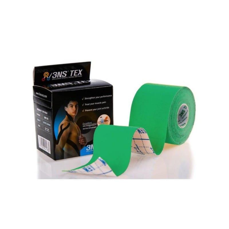 3NS TEX kinesiotaping 5cmx5m zielony