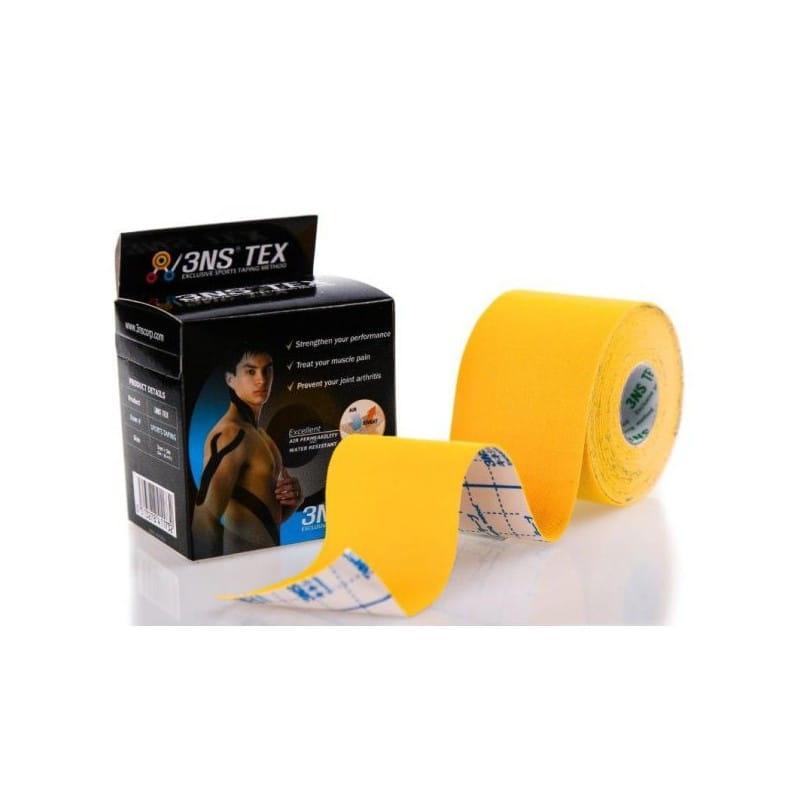 3NS TEX kinesiotaping 5cmx5m żółty