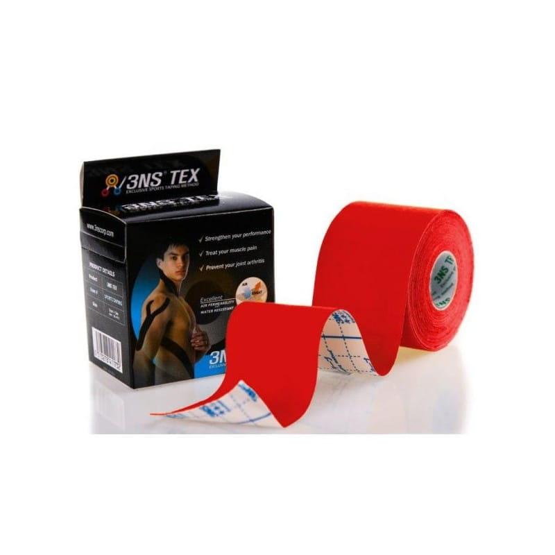 3NS TEX kinesiotaping 5cmx5m czerwony