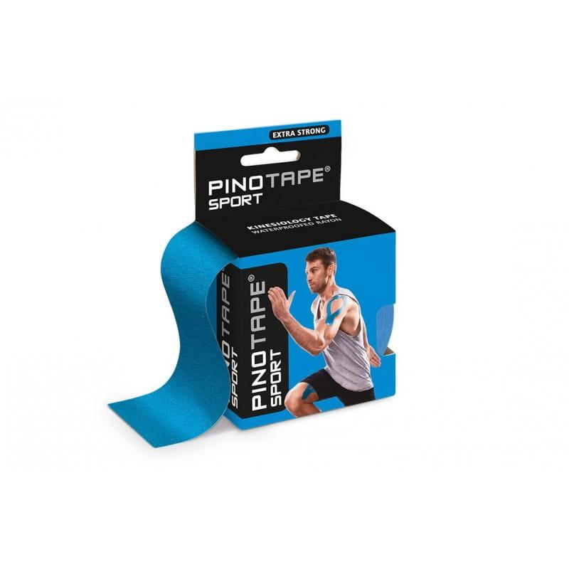 PINO Kinesiology Tape 5cm x 5m sport - niebieski
