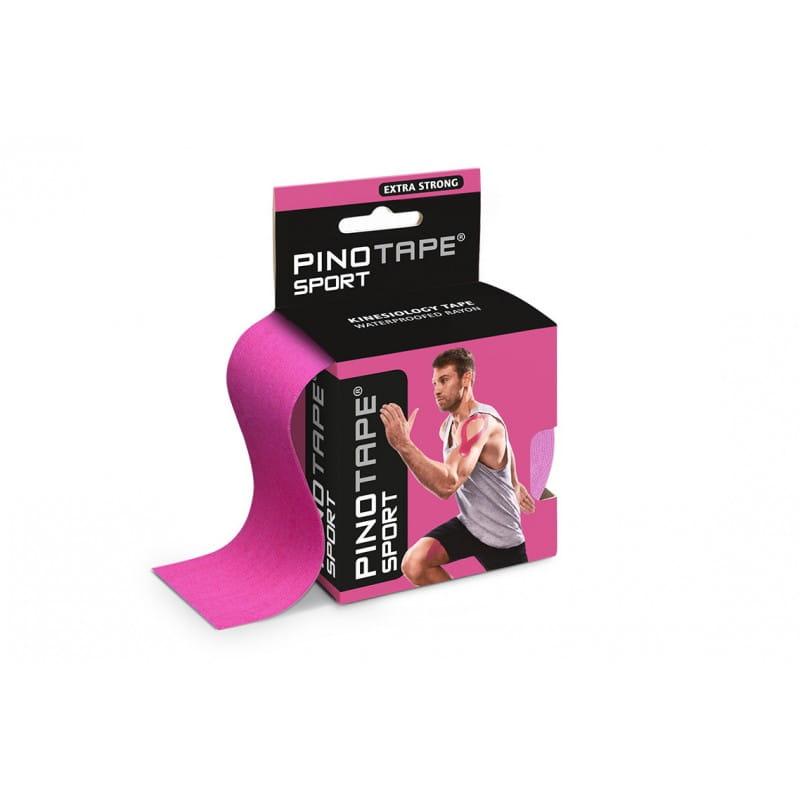 PINO Kinesiology Tape 5cm x 5m sport - różowy