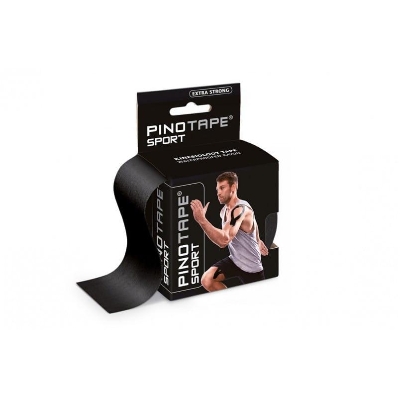 PINO Kinesiology Tape 5cm x 5m sport - czarny