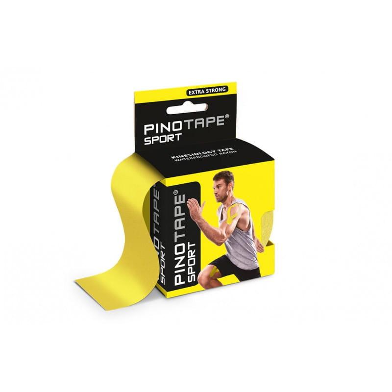 PINO Kinesiology Tape 5cm x 5m sport - żółty