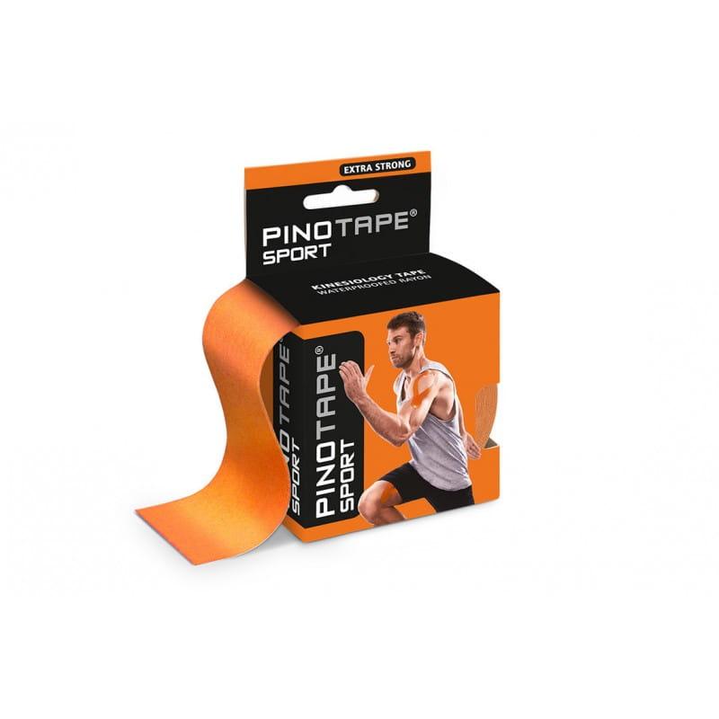 PINO Kinesiology Tape 5cm x 5m sport - pomarańczowy