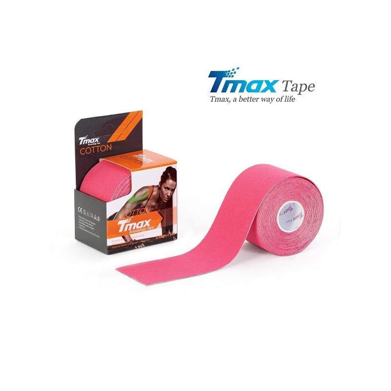 Tmax Kinesiology Tape - plaster elastyczny różowy