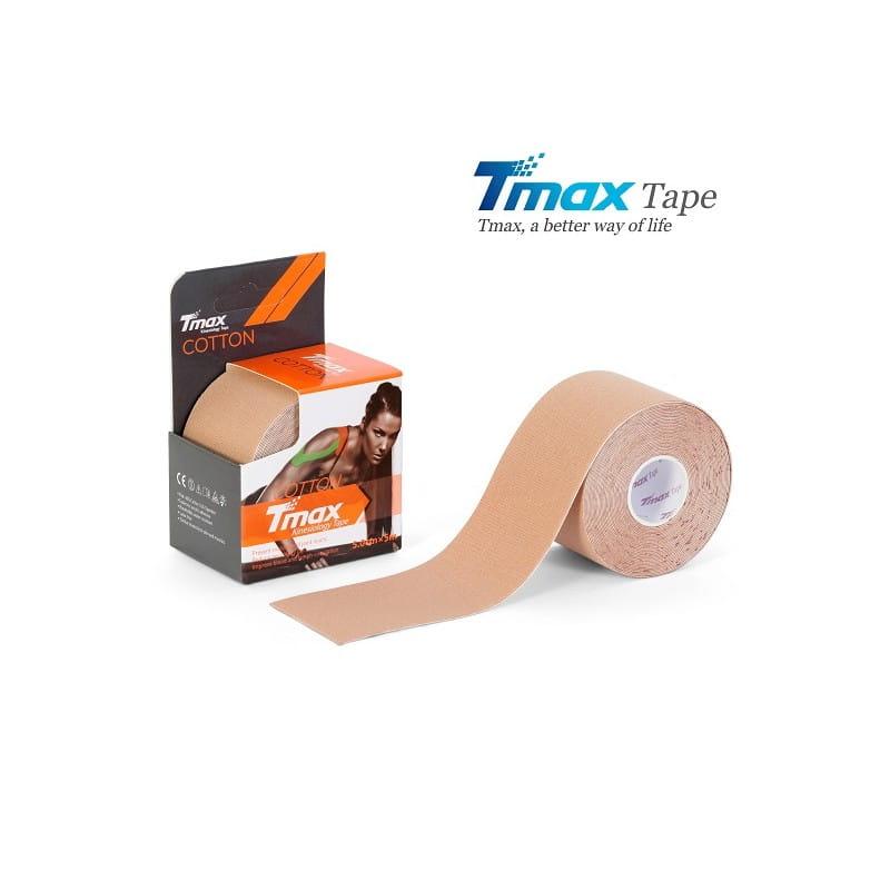 Tmax Kinesiology Tape - plaster elastyczny beżowy