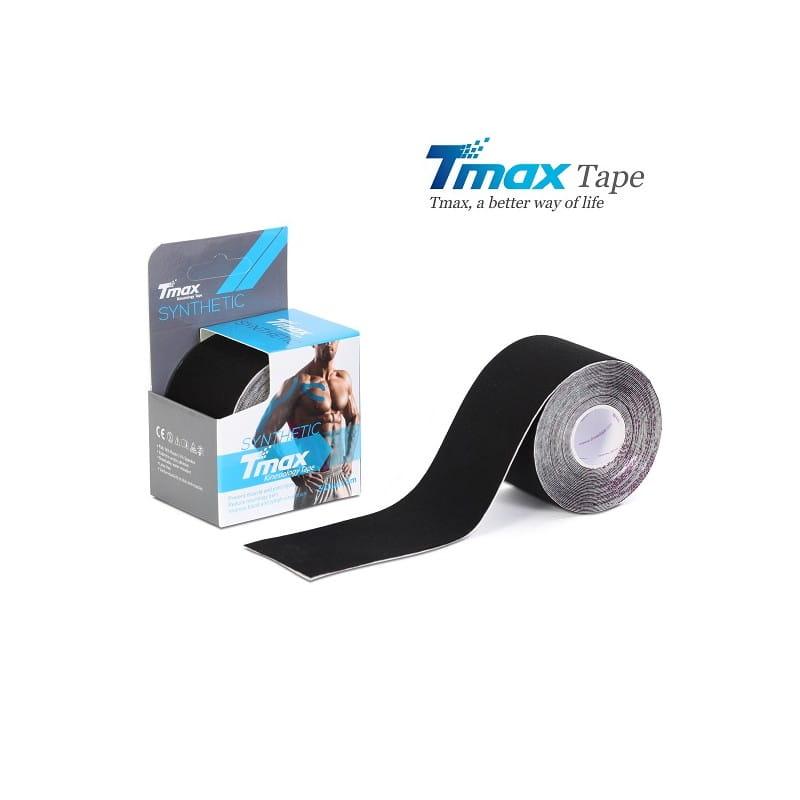 Tmax Kinesiology Tape - plaster elastyczny - synthetic czarny