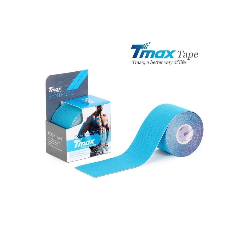 Tmax Kinesiology Tape - plaster elastyczny - synthetic niebieski