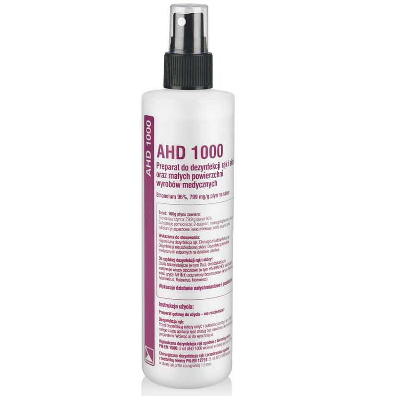 Płyn do dezynfekcji AHD 1000 - poj. 250ml