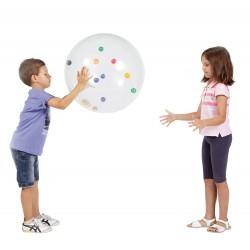 Piłka z kolorowymi kulkami Activity Ball 50cm Gymnic
