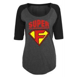 Koszulka damska 3/4 super...