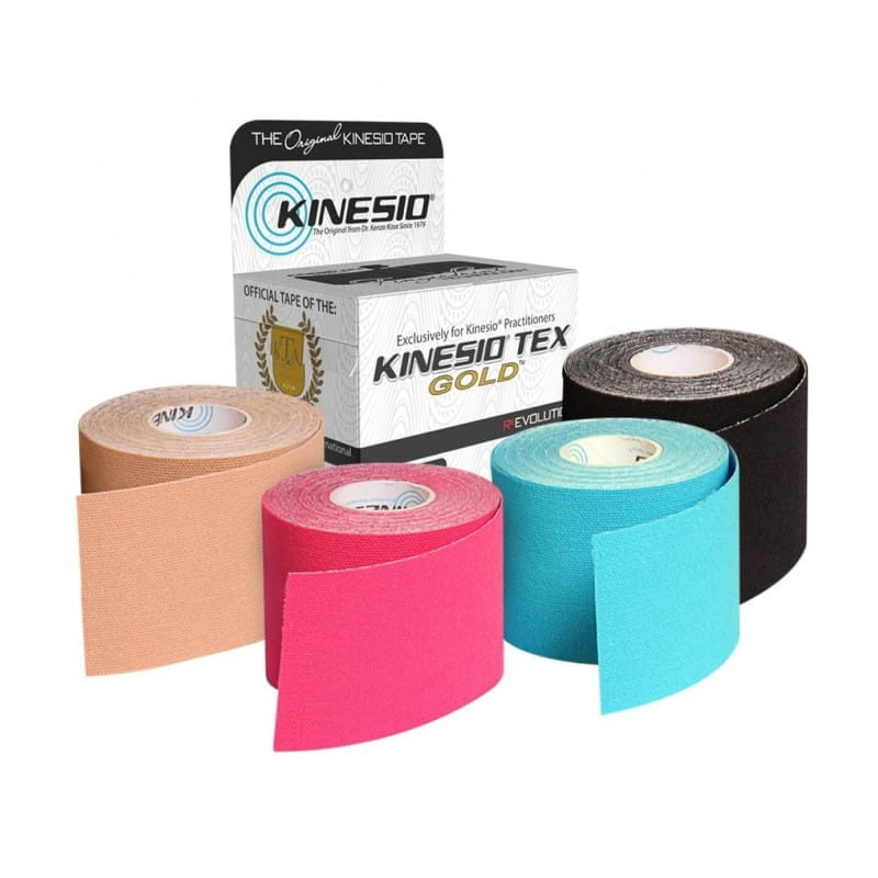 Kinesio Tape Gold 5cmx5m - różne kolory