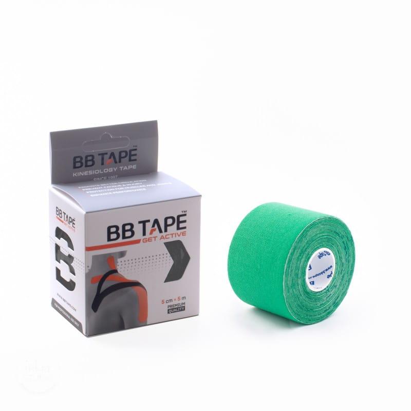 BB Kinesiology Tape 5cm x 5m - zielony