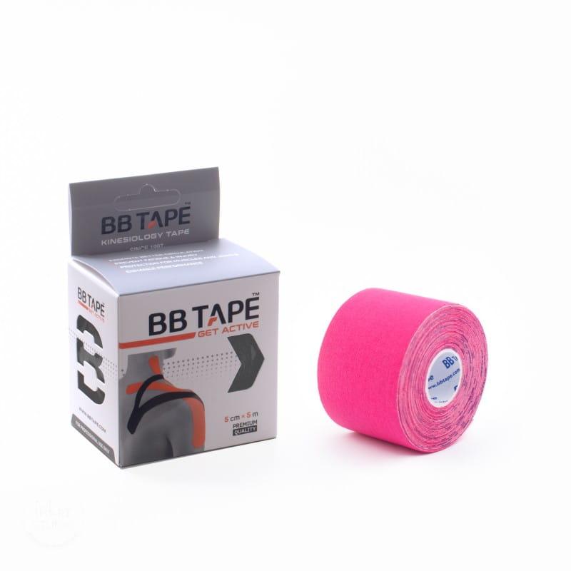 BB Kinesiology Tape 5cm x 5m - różowy